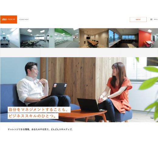 リクルートCI+サイト構築